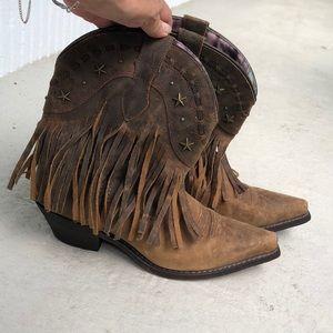 Dingo Fringe Boots